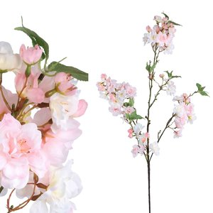 Blossom Flower Pink Cherry 3 Wide Twigs