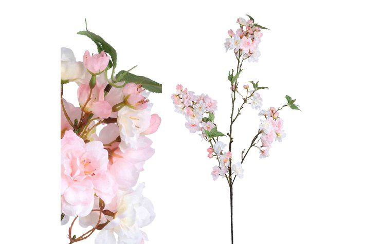 PTMD Blossom Flower Pink Cherry 3 Wide Twigs