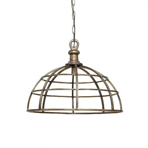 Hanglamp Denver brass metal