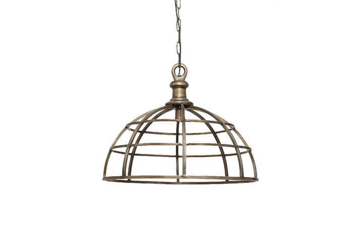PTMD Hanglamp Denver brass metal