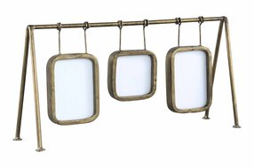 PTMD Jins gold 3 hanging picture frames