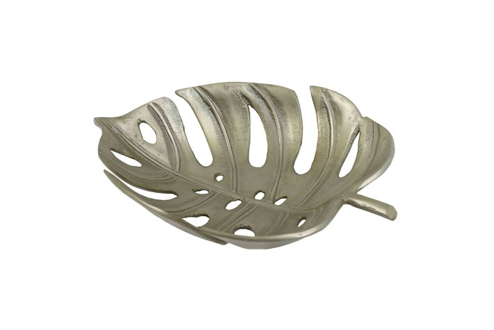 PTMD Tray Leaf Shape Open Champagne