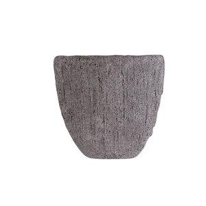 Boat rock ovaal Grey