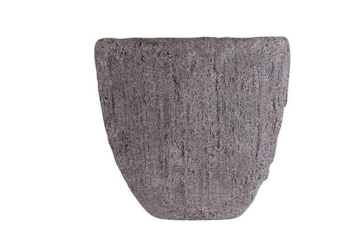 Eigenstijl Wonen Boat rock ovaal Grey