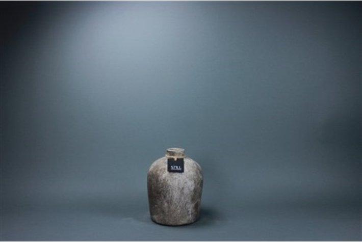 Eigenstijl Wonen Bottle small rustic clay