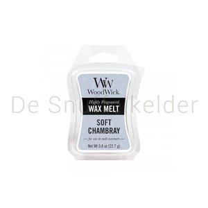 WoodWick Wax Melt Soft Chambray