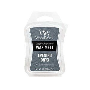 WoodWick Wax Melt Evening Onyx