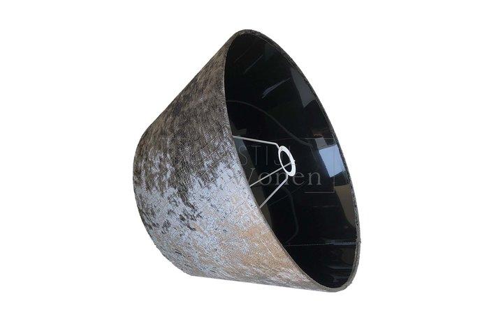 Eigenstijl Wonen Lampenkap donker olijf Croco-83 - RL 45cm
