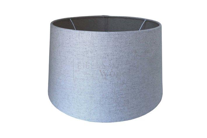 Eigenstijl Wonen Lampenkap grijs 8244-56 - RL 25cm