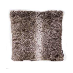 Brown Fur Cushion 45X45