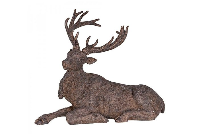 Home society Deer-Laying Resin
