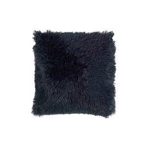 Dutch Decor Fluffy 45x45 cm donkerblauw sierkussen