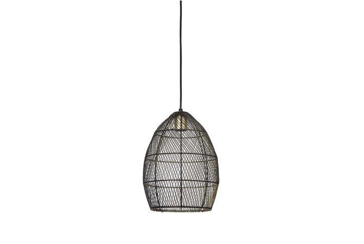 Light en Living Light & Living Hanglamp Ø23x31 cm MEYA zwart goud
