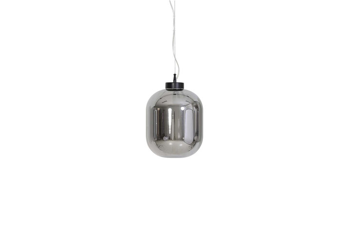 Light en Living Light & Living Hanging lamp Ø25x30 cm JULIA glass smoke