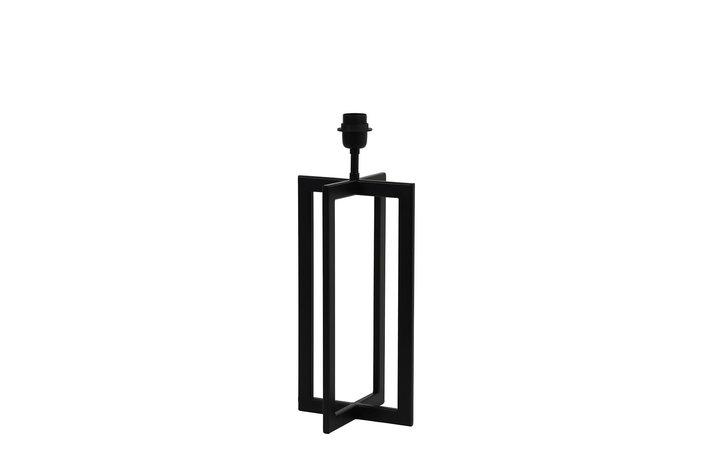 Light en Living Light & Living Lamp base 21x21x46 cm MACE matt black