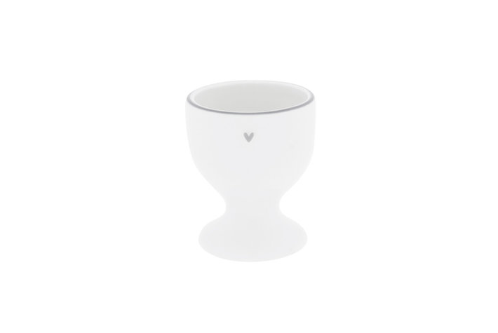 Bastion Collections Bastion Collections Egg cup with Little heart in Grey