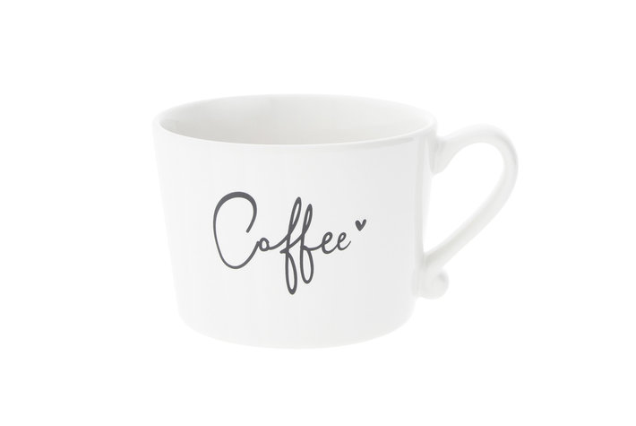 Bastion Collections Bastion Collections Cup white Coffee in Black