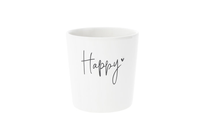Bastion Collections Bastion Collections Cup Happy in Black
