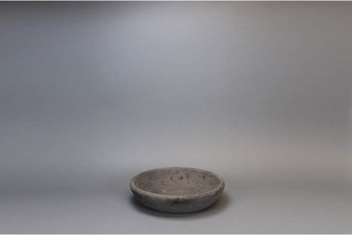 Still Bowl touch of brown 50cm