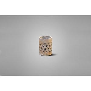 Brynxz cilinder windlicht touch of brown