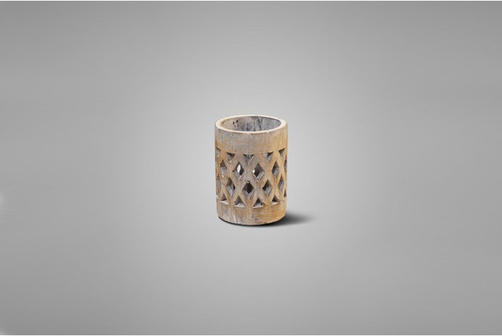 Brynxz Brynxz cilinder windlicht touch of brown