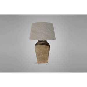 BRYNXZ LAMP CLASSIC TALL OLD BROWN D.24 H.46 (BRSE21)