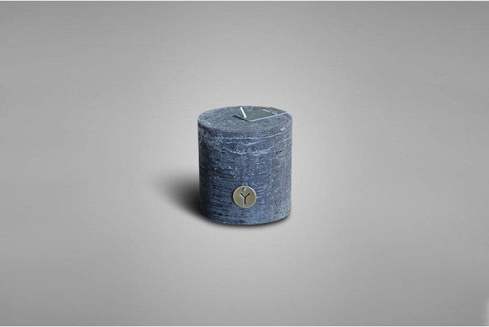 Brynxz Brynxz rustic candle black 10cm