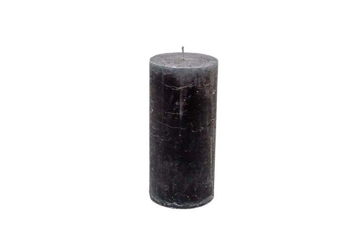 Stompkaars metallic dark grey 7x15cm