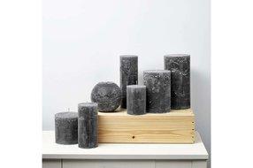 Stompkaars dark grey 7x20cm