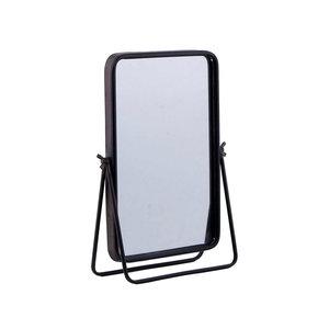 Metal dresser mirror
