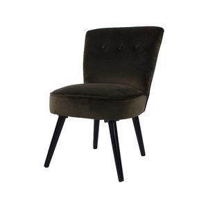 Chair danielle velvet groen