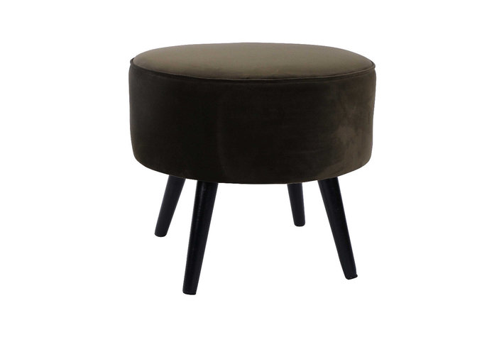 Home society Footstool tess groen