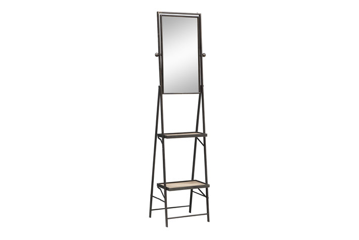 PTMD PMTD Spencer Wall standing mirror with shelfs