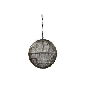 PMTD Zezz Brass wire hanging lamp ball L