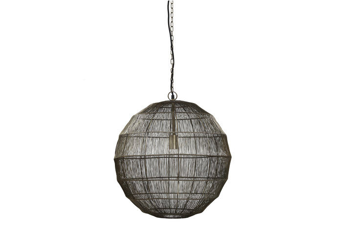 PTMD PMTD Zezz Brass wire hanging lamp ball L