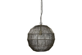 PTMD PMTD Zezz Brass wire hanging lamp ball S