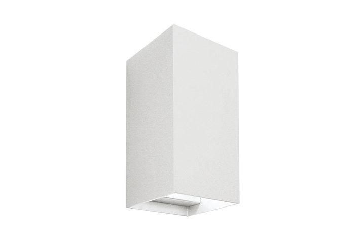 Maretti Lighting Maretti inlet wall up/down wit structuur