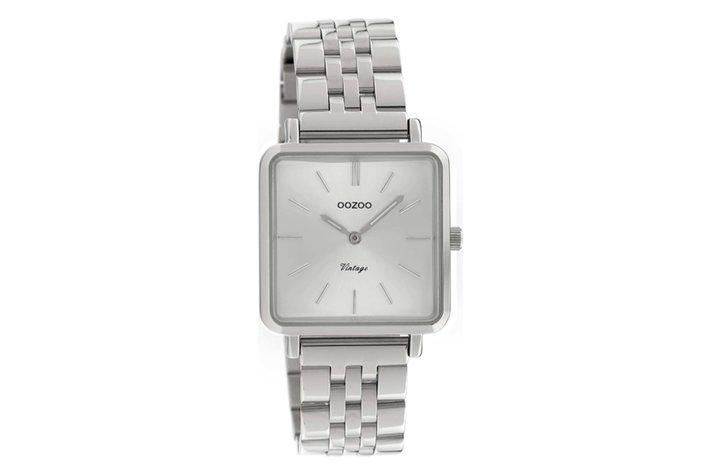 Oozoo Oozoo horloge zilver | C9950