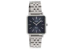 Oozoo Oozoo horloge zilver / blauw |  C9951