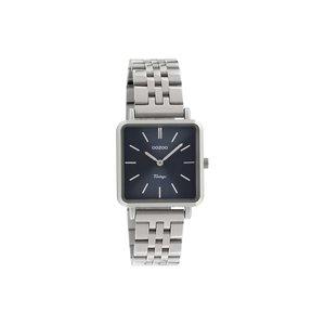 Oozoo horloge zilver / blauw |  C9951