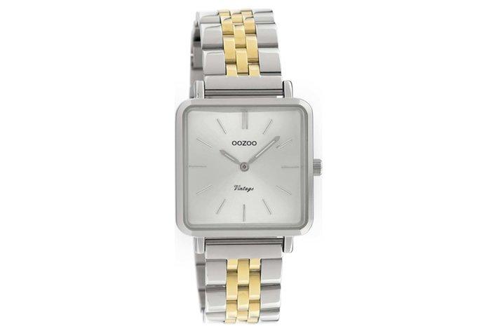 Oozoo Oozoo horloge zilver / goud | C9952