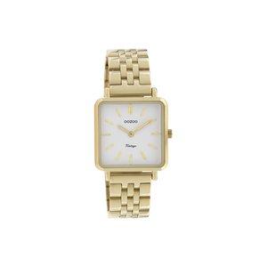 Oozoo horloge Goud / wit | C9955