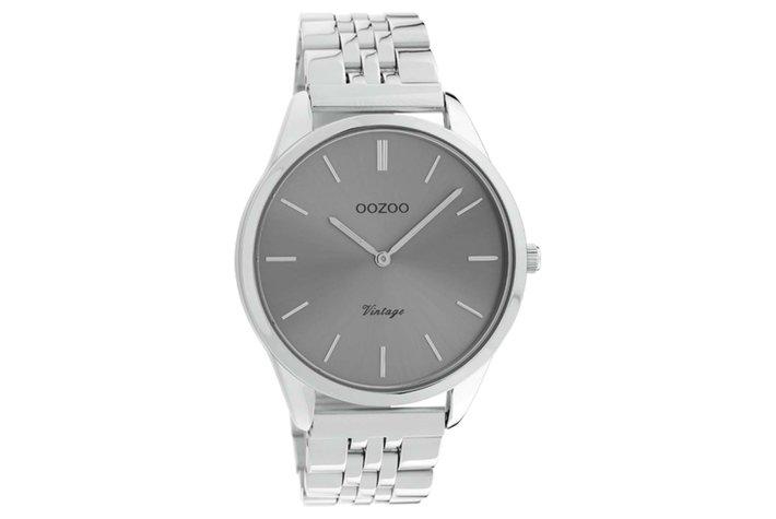 Oozoo Oozoo horloge zilver | C9983