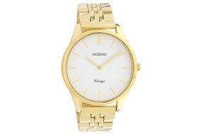 Oozoo Oozoo horloge goud - wit | C9985