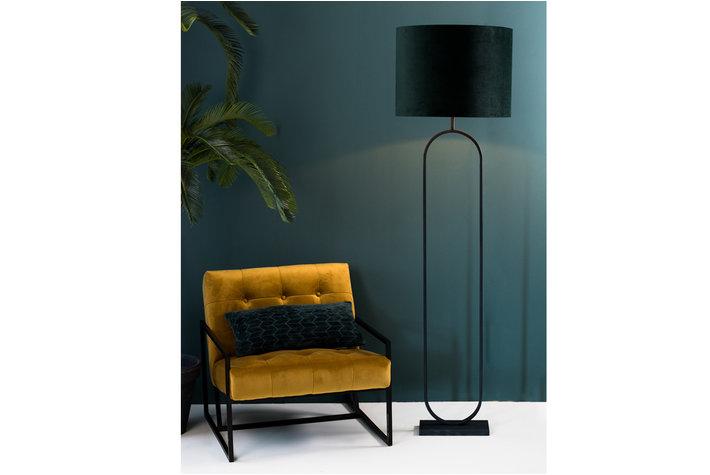 Light en Living Vloerlamp 30x15x142 cm JAMIRI mat zwart