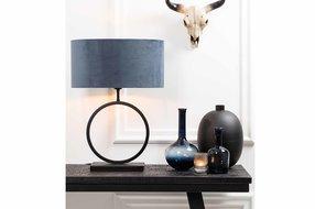 Light en Living Light & Living Lamp base 30x12,5x42 cm LIVA matt black