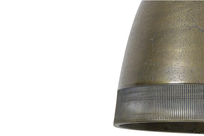 Light en Living Light & Living Hanglamp sumeri ruw nikkel antiek brons