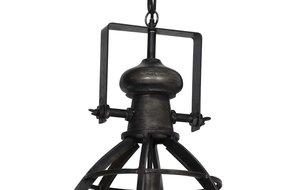 Light en Living Light & Living Hanglamp amy antiek zwart