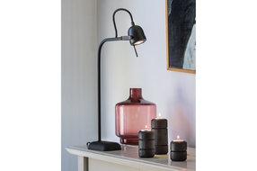 Light en Living Light & Living Bureaulamp led daimen mat zwart