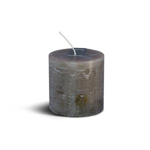 Brynxz rustic candle brown 10cm